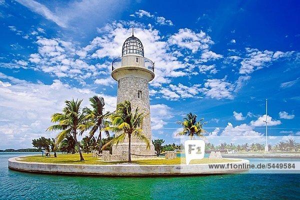 Vereinigte Staaten von Amerika  USA  Markierung  Nostalgie  Leuchtturm  Dekoration  Inhaber  Insel  1  bauen  Atlantischer Ozean  Atlantik  Karibisches Meer  Florida  Miami
