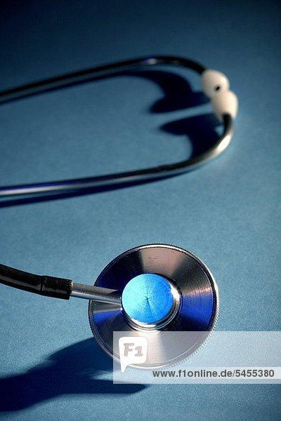 Nahaufnahme eines Stethoskops