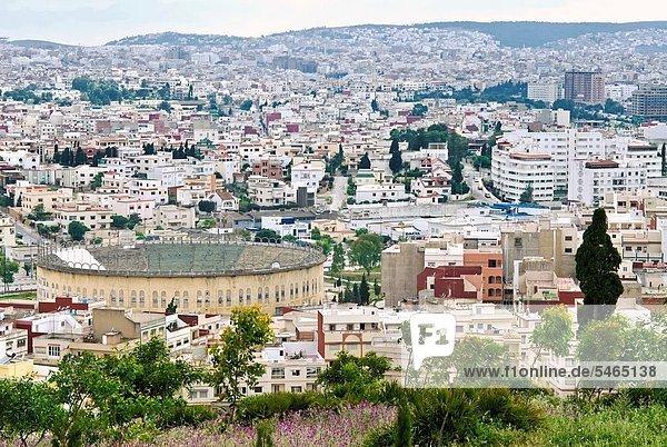 Nordafrika  Hügel  Ansicht  Tanger  Marokko