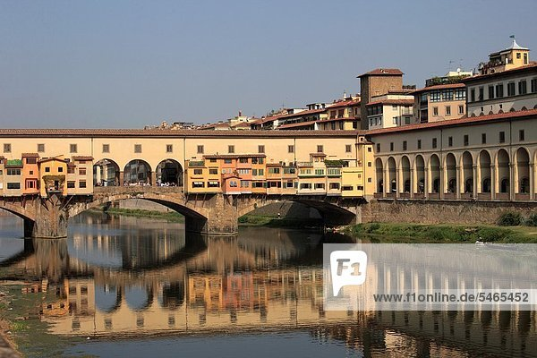 Florenz  Italien  Alte Brücke  Toskana