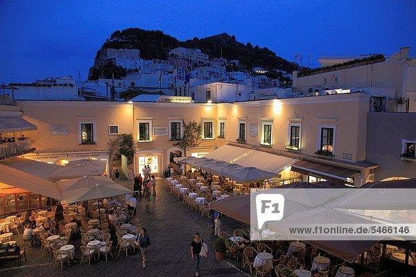 Restaurant  Cafe  Kampanien  Capri  Italien