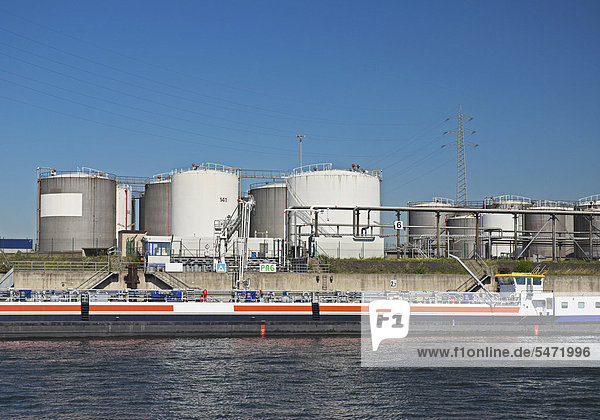 Industrieanlage Duisburg