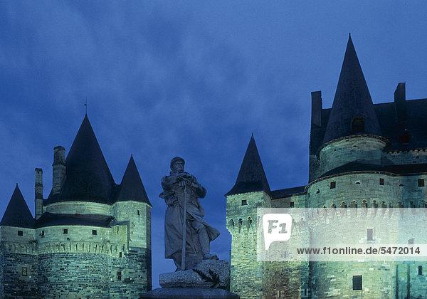 Chateau de Vitre  Frankreich