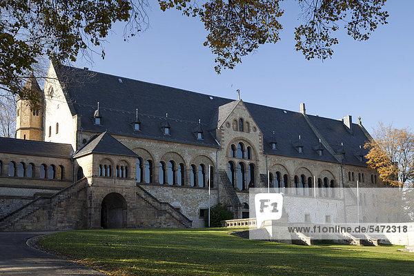 Kaiserpfalz  UNESCO-Weltkulturerbestätte  Goslar  Harz  Niedersachsen  Deutschland  Europa