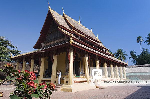 Tempel  Wat Sisaket  Vientiane  Laos  Indochina  Asien