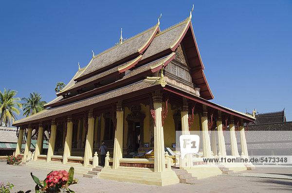 Wat Sisaket Tempel  Vientiane  Laos  Indochina  Asien
