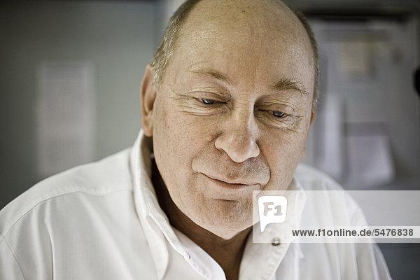 älterer Mann  portrait