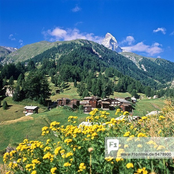 Schweiz Kanton Wallis