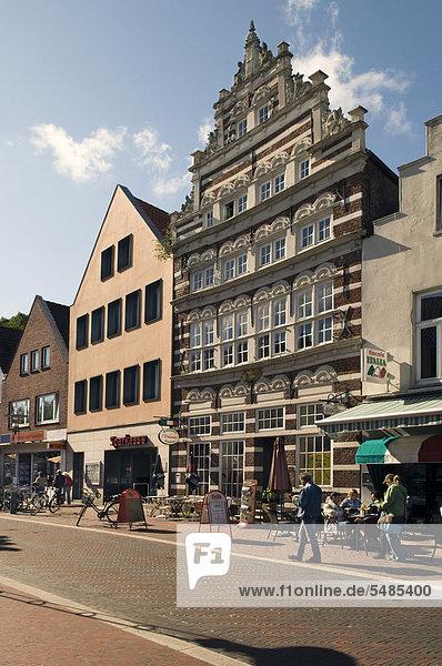 Europa Wohnhaus Norden Ostfriesland Deutschland Niedersachsen Norddeich