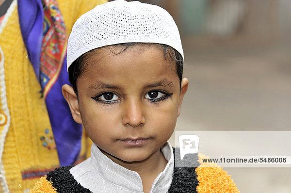 Indian boy  portrait  Delhi  North India  India  Asia