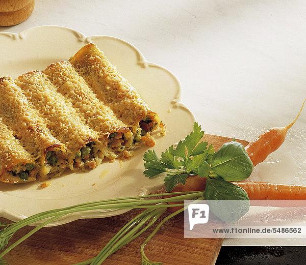 Cannelloni mit Gemüse  Niederlande  Rezept gegen Gebühr erhältlich