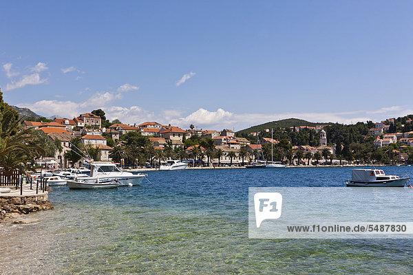 Hafen Europa Geschichte Kroatien Dalmatien