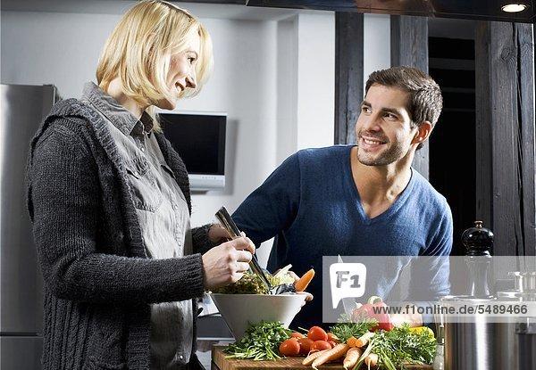 Paar in der Küche Paar in der Küche