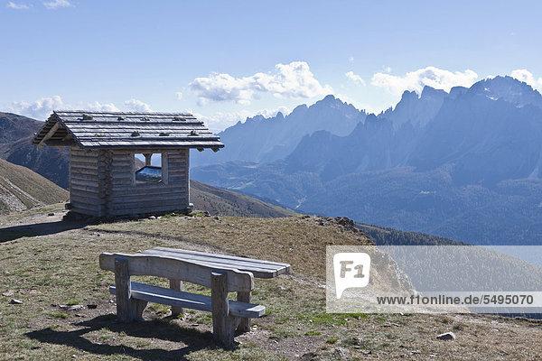 Auf dem Berg Helm  Monte Elmo  2434 m  Sextener oder Sextner Dolomiten  Italien  Europa