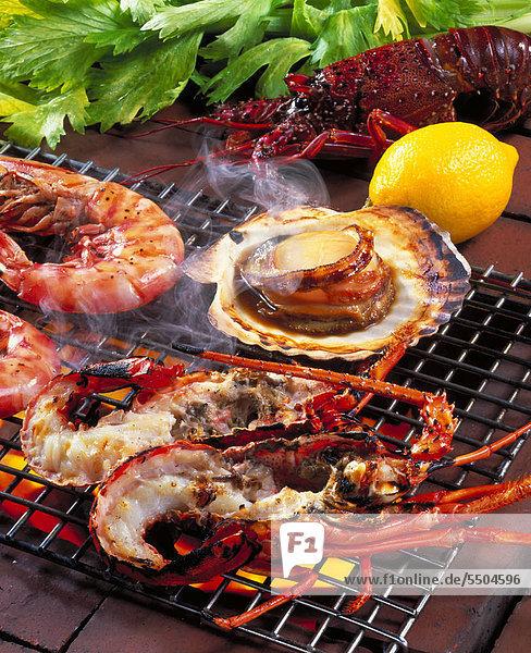 Sea Food Barbecue