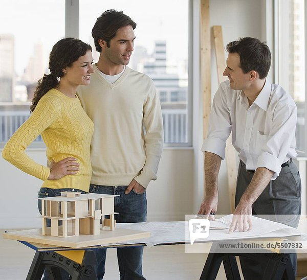 zeigen Architekt Blaupause