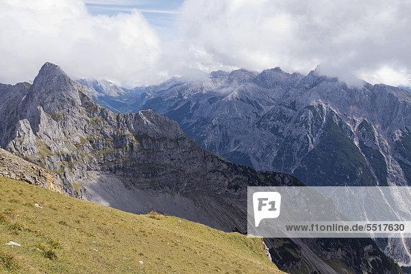 Karwendelgebirge  Alpen  Bayern  Deutschland  Europa