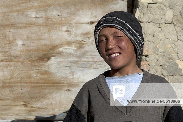 Kirgisen-Junge  Pamir  Tadschikistan  Zentralasien