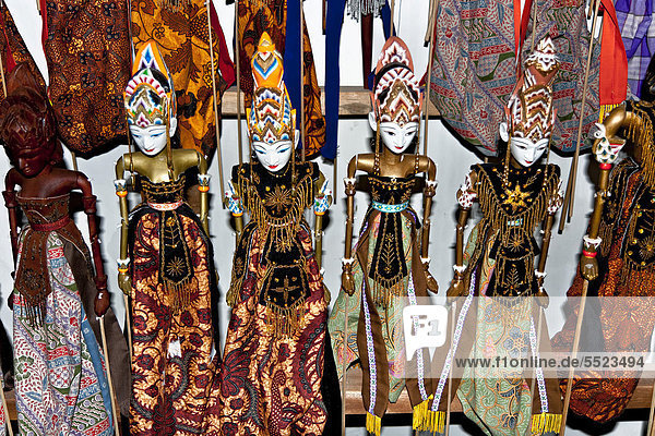 Puppets  Java  Indonesia  Southeast Asia  Asia
