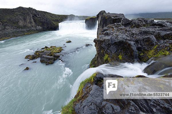 Godafoss  Waterfall of the Gods  Skj·lfandafljÛt  Iceland  Europe
