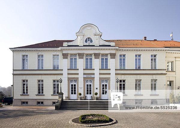 Schloss Westerholt  Schlosshotel  Herten  Stadtteil Westerholt  Ruhrgebiet  Nordrhein-Westfalen  Deutschland  Europa  ÖffentlicherGrund