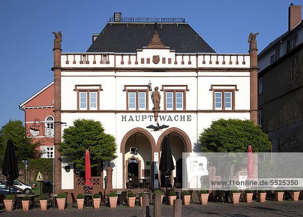 Hauptwache  Wetzlar  Hessen  Deutschland  Europa  ÖffentlicherGrund