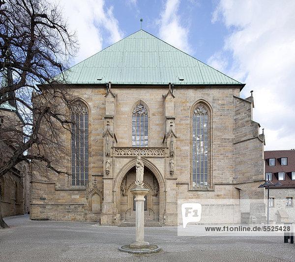 Erfurter Mariendom  Erfurt  Thüringen  Deutschland  Europa  ÖffentlicherGrund