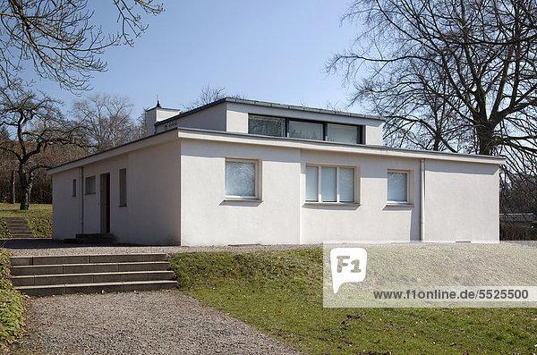 Europa Wohnhaus Modell Bauhaus Deutschland Thüringen Weimar