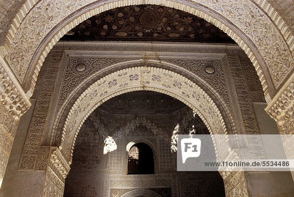 Europa  Alhambra  Andalusien  Granada  Spanien