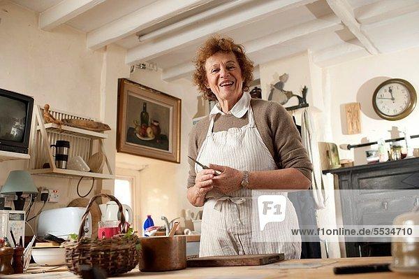 kochen Schriftsteller Lebensmittel Wohnhaus Küche ungestüm Gewürz