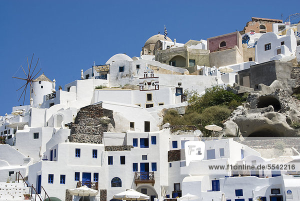 Oia, Santorini Island, Greece, Europe