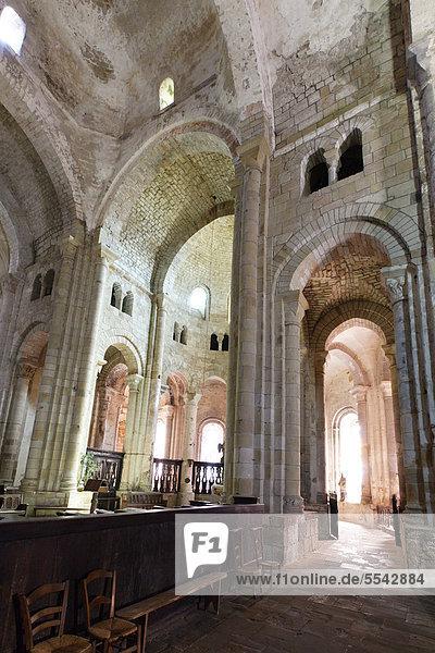 Kirche Saint-Pierre, 11. Jahrhundert, Beaulieu sur Dordogne, Dordogne-Tal, CorrËze, Limousin, Frankreich, Europa