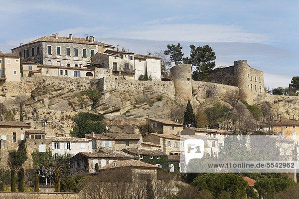 Frankreich Europa Provence - Alpes-Cote d Azur Luberon Vaucluse