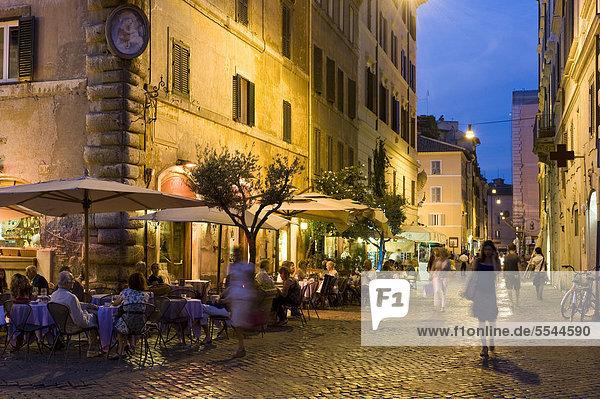 Rom Hauptstadt Europa sehen Abenddämmerung Italien