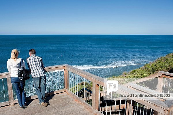Strand  Ozean  Fernverkehrsstraße  groß  großes  großer  große  großen