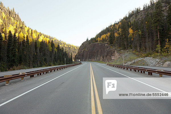 Wolf Creek Pass  US Highway 160  San Juan National Forest  Colorado  United States