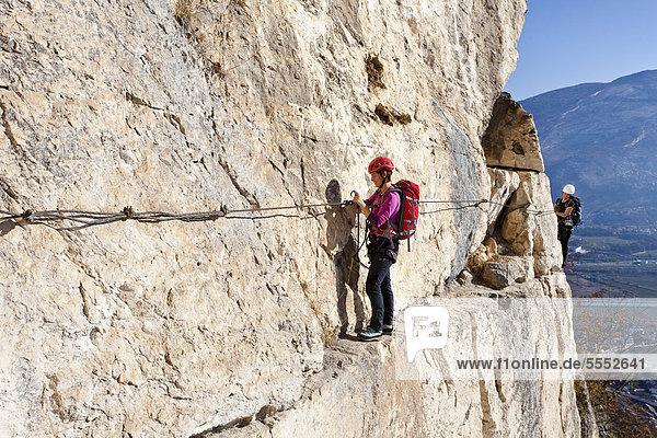 Klettersteig Italien : Europa iblles gardaseeberge italien rovereto trentino