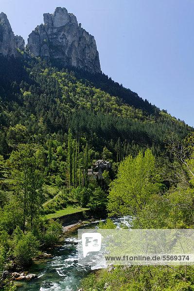 Frankreich Europa schreiben UNESCO-Welterbe Gorges du Tarn