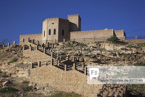 Fort von Taqah  südlicher Oman  Arabische Halbinsel  Naher Osten