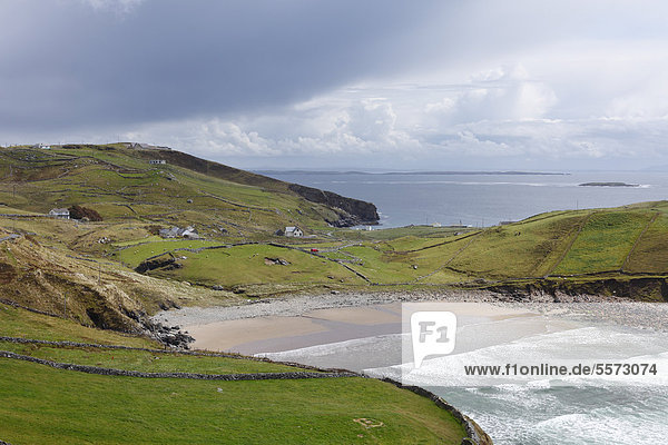 Muckros Head  Donegal Bay  County Donegal  Irland  Europa