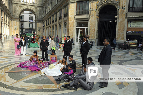 Hochzeit Kampanien Italien Neapel