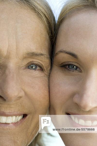 Mutter mit erwachsener Tochter