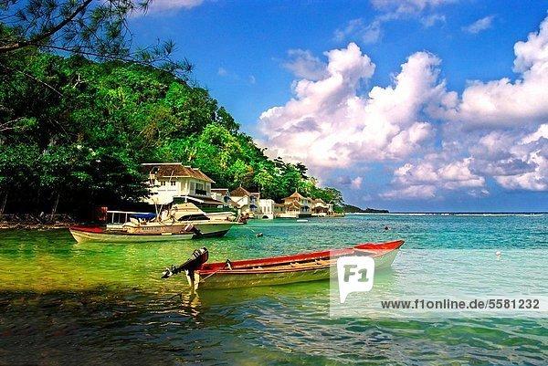 Karibik  Blaue Lagune  Jamaika