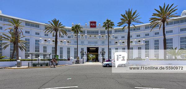 RIU Hotel Maspalomas  Playa del Ingles  San BartolomÈ de Tirajana  Gran Canaria  Kanarische Inseln  Spanien  Europa