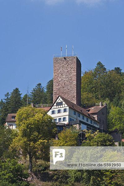 Bergfried  Burg Liebenzell  Bad Liebenzell  Schwarzwald  Baden-Württemberg  Deutschland  Europa