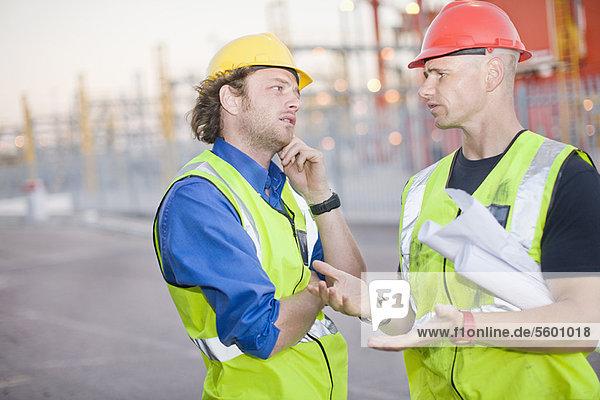 bauen  sprechen  arbeiten