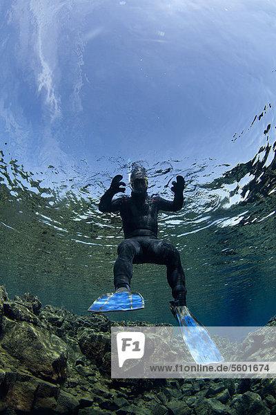 Felsbrocken  Anordnung  schwimmen