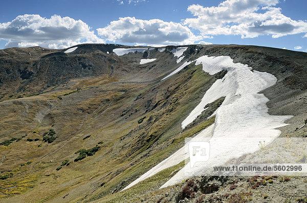 Glacial Circle am Alpine Visitor Center  Trail Ridge Road  Rocky Mountain National Park  Colorado  USA