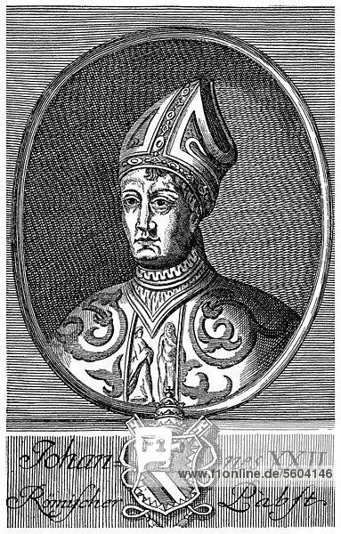 Pope John XXII  Jacques Arnaud DuËse  Jacques DuËse or James of Cahors  1245 or 1249 - 1334