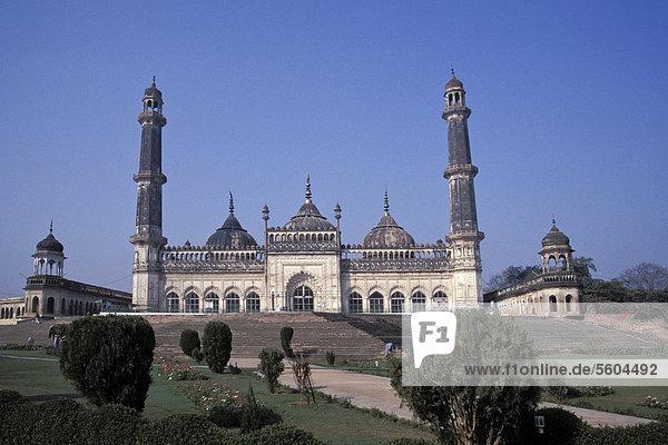 Bara Imambara oder Großes Haus des Imams  Lucknow oder Lakhnau  Uttar Pradesh  Indien  Asien